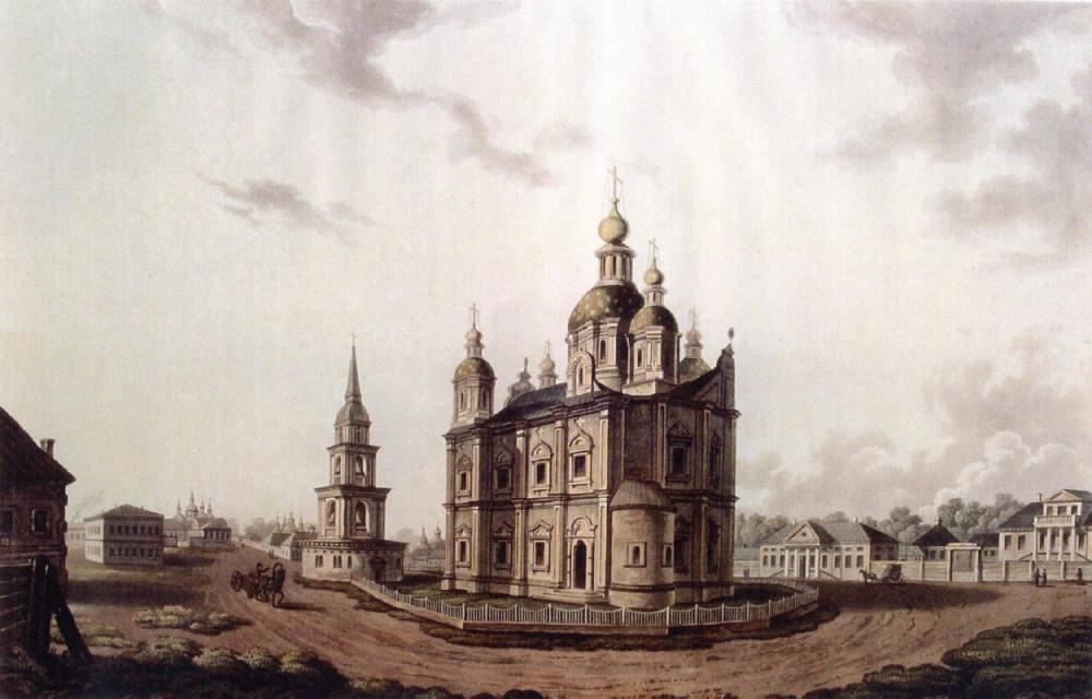 Графика  И. С. Стадлер. Город Полтава